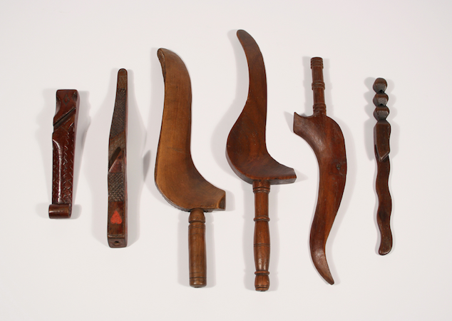 A collection of knitting sheaths, ©Dumfries Museum, Dumfries, Scotland, DUMFM:0207.50=55